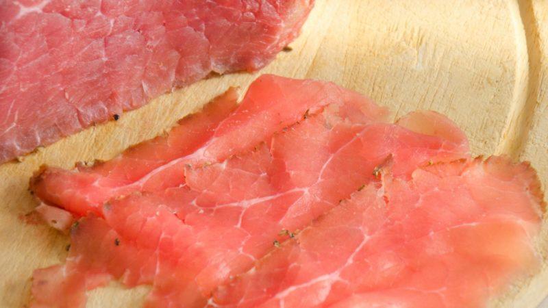 Carne salada di Fassone