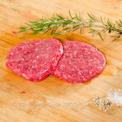 Hamburger di Fassone ai peperoni